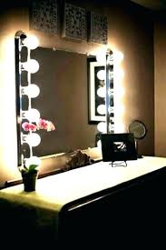 mirror with light bulbs vanity mirror with lights lighted vanity mirror 2 healthouts info