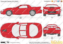 Online Blueprints by Exceptional Free Online Blueprints 5 Chevrolet Camaro Ss 1993