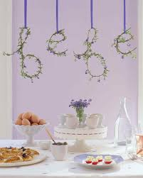 lavender baby shower decorations countryside baby shower martha stewart