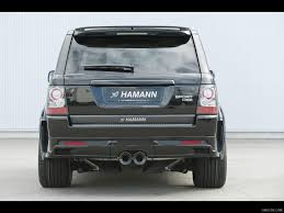 range rover rear 2010 hamann conqueror ii range rover sport rear angle view photo