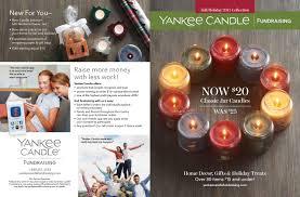 yankee candle fundraising magazine list candles ideas