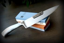 how to sharpen kitchen knives how to sharpen a knife with a the oldest and simplest method