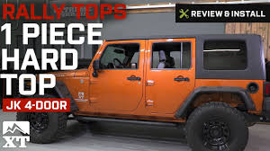 rally jeep wrangler jeep wrangler rally tops 1 piece hardtop 2007 2017 jk 4 door