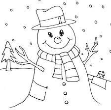 snowman love snow rain coloring color luna