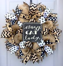 how to make a burlap deco mesh wreath for pet