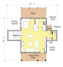small guest house floor plans tag one room cottage floor plans