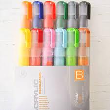 montana acrylic paint marker 2mm set of 12 fine b stampington