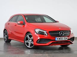 used mercedes benz a class red for sale motors co uk