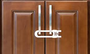 Kitchen Cabinets Locks Child Safety Lock For Sliding Doors Amazon Com