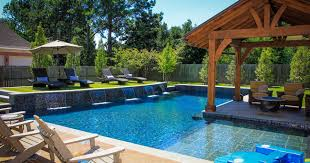 backyards cool backyard landscaping ideas swimming pool design