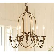 French Wire Chandelier Pottery Barn Chandelier