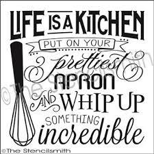 kitchen stencil ideas 110 best signs images on stencils laser cutting and
