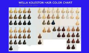 color for 2016 hair color chart 2016