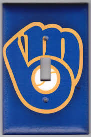 86 best milwaukee brewers images on pinterest milwaukee brewers milwaukee brewers retro logo switchplate by spotteddogstudios 8 00