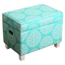 Teal Storage Ottoman Kids Storage Ottoman Kids U0027 Furniture Target