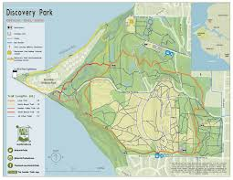 seattle map discovery park parks in the of nature parkways