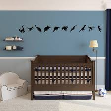 baby nursery wall stickers dinosaurs wall art decal pack for kids