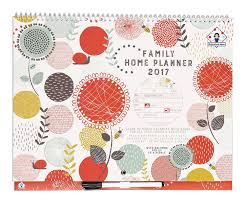 2017 organised mum family home planner calendar month to view