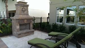 outdoor fireplace backyad fireplace custom designs american