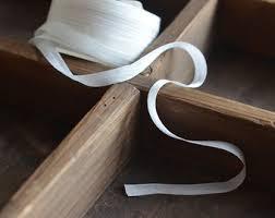 white silk ribbon white silk ribbon etsy