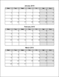 100 2015 calendar template word 2010 7 best images of march