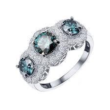 diamond jewelry rings images Blue diamond rings caribbean wedding promise diamond jpg
