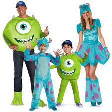 Cute Monster Halloween Costumes by How Cute Is This Monster U0027s University Family Costumes
