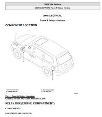 2008 kia sedona ex service repair manual pdf pdf free downloading