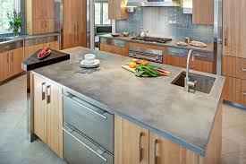 cement countertops concrete kitchen countertops kitchen contemporary with