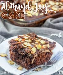 almond joy cake the country cook
