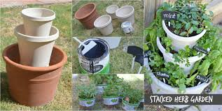 Potted Herb Garden Ideas Reader Question Your Frugal Gardening Tips Diy Stacked