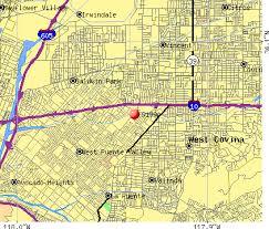 west covina ca map 91790 zip code west covina california profile homes