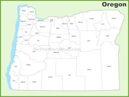oregon county map oregon state maps usa maps of oregon or