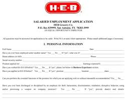 Resume Samples For Job Application by Heb Job Application Whitneyport Daily Com