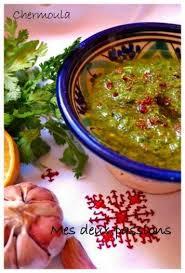 cuisiner poisson recette chermoula marinade pour poisson et autres 750g