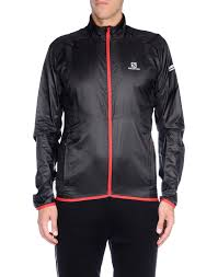 salomon agile jacket black men coats and jackets gk