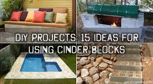 diy projects 15 ideas for using cinder blocks survivopedia