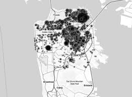 san francisco eviction map the buck starts here a map of gentrification real change