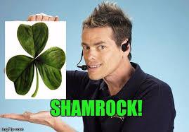 Shamwow Meme - shamrock guy imgflip