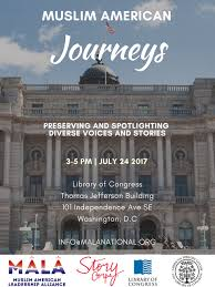 library of congress floor plan mala presents muslim american journeys at library of congress
