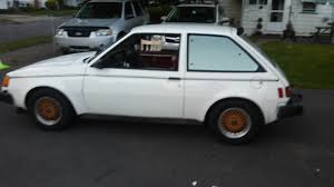 factory turbo car 1984 dodge colt gts turbo