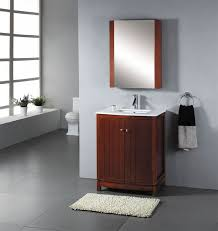abodo 27 inch single sink bathroom vanity set constructed from