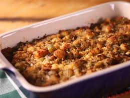 country cornbread dressing with pecans recipe deen food