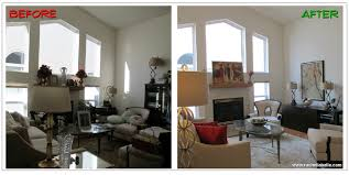 Staging Before And After Edmonton Interior Decorator Home Stager Rachel Schofield