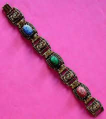 vintage jewelry bracelet images Vintage costume antique estate jewelry bracelets oriental scarab jpg