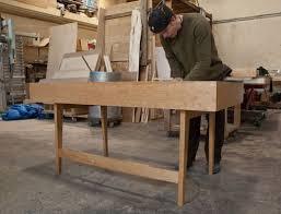 Panel Desk Custom Solar Panel Desk By Sawn Custom Woodwork Custommade Com