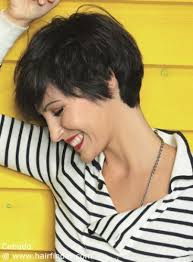 short haircut with ear showing versatile short haircut that covers half of the ears beauty