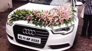 indian wedding car decoration wedding car decoration with flowers
