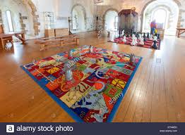 Game Room Rug The Games Room In Carrickfergus Castle A Norman Castle In