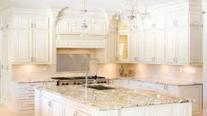 white kitchen cabinets with white appliances antique white